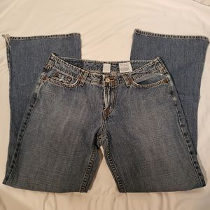 Distressed Lucky Brand Dungarees